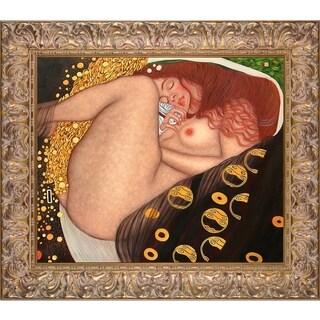 Gustav Klimt 'Danae' Hand Painted Oil Reproduction