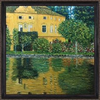 Gustav Klimt 'Schloss Kammer on Attersee' Hand Painted Oil Reproduction