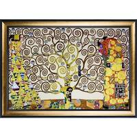 Gustav Klimt 'The Tree of Life, Stoclet Frieze, 1909' (Luxury Line) Hand Painted Oil Reproduction