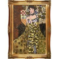 Gustav Klimt 'Portrait of Adele Bloch Bauer I' (Luxury Line) Hand Painted Oil Reproduction