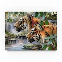 Howard Robinson 'Majestic Tigers' Canvas Art
