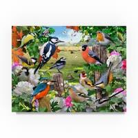 Howard Robinson 'Colorful Birds' Canvas Art