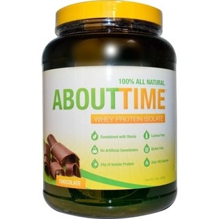 About Time 2-pound Whey Isolate Protein Chocolate