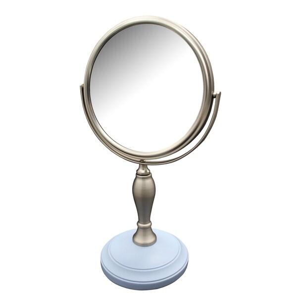 Fair Lady Freestanding Bath Magnifying Makeup Mirror