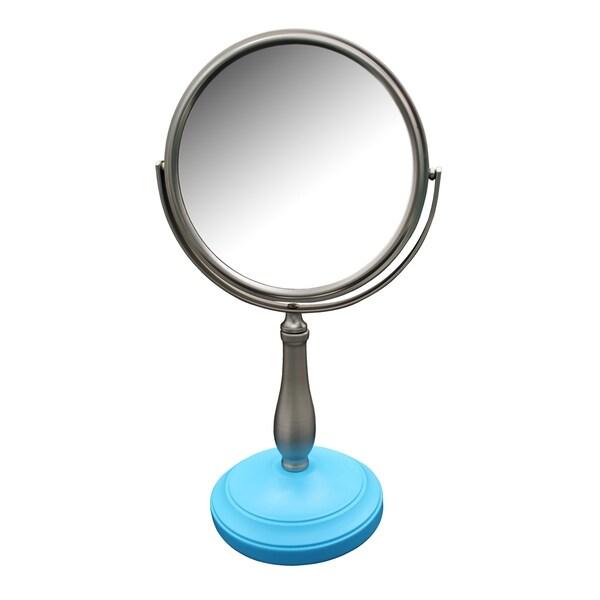 Clancy Freestanding Bath Magnifying Makeup Mirror