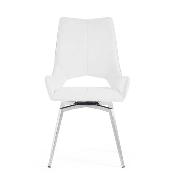 Super Shop Bucket Seat Style White Dining Chair Free Shipping Machost Co Dining Chair Design Ideas Machostcouk