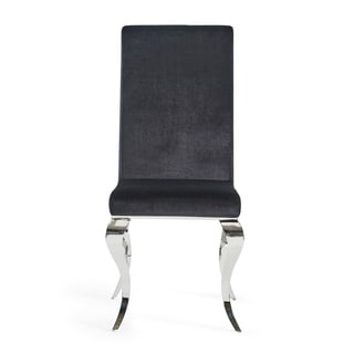 Velvet Finish Dining Chair