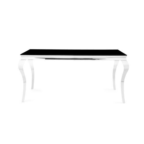 Furniture Chrome Leg Dining Table