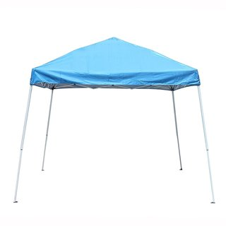 ALEKO 8'x8' Easy Pop Up Outdoor Collapsible Blue Gazebo Canopy Tent