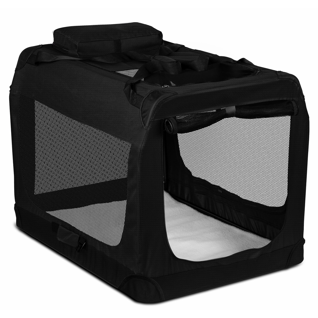 Paws & Pals Dog Crate Soft-Sided Pet Carrier - Foldable P...