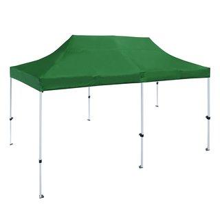 ALEKO 10 X 20 ft Outdoor Party Waterproof Green Gazebo Tent Canopy