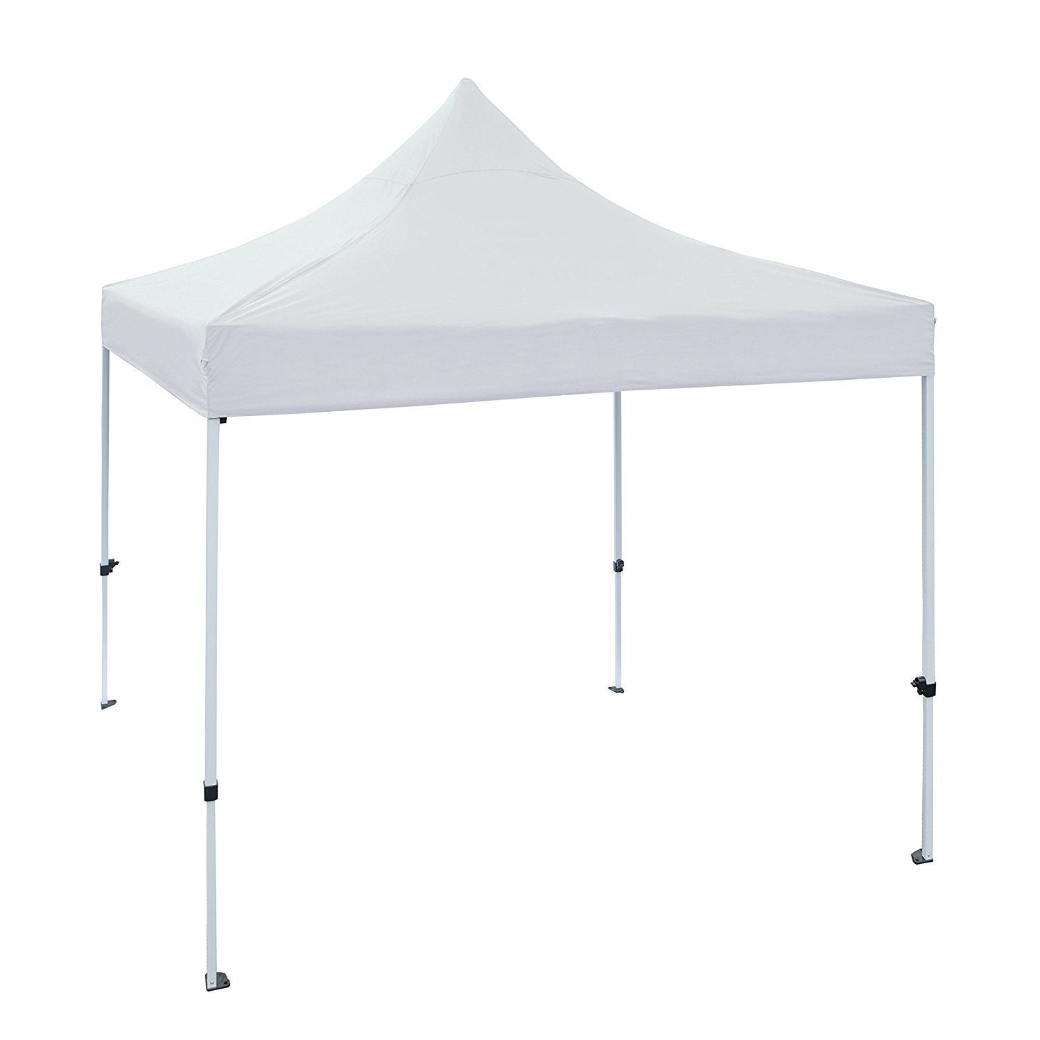 Aleko 10 X 10 ft Outdoor Party Waterproof White Gazebo Te...