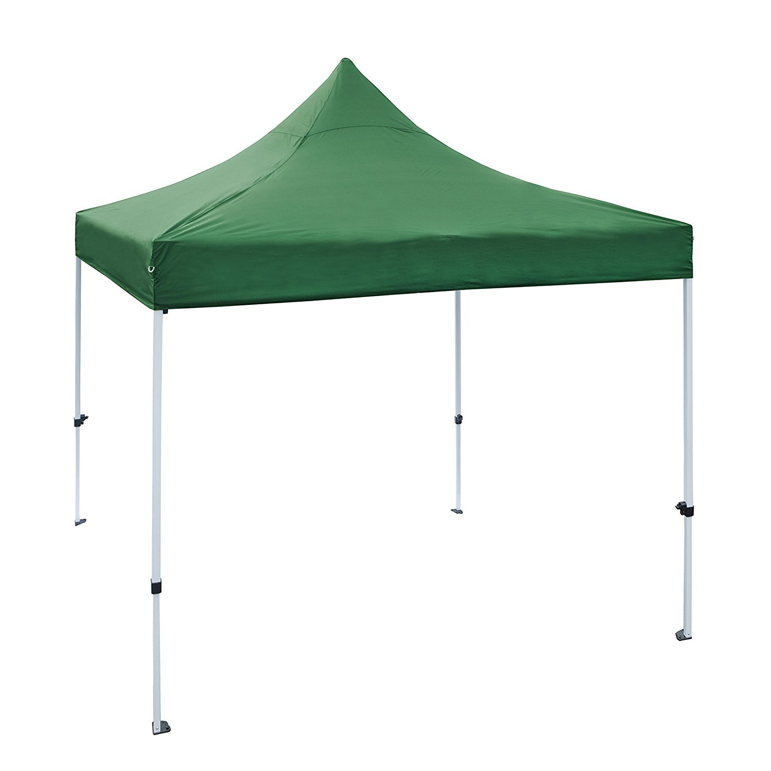 Aleko 10 X 10 ft Outdoor Party Waterproof Green Gazebo Te...
