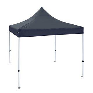 ALEKO 10 X 10 ft Outdoor Party Waterproof Black Gazebo Tent Canopy