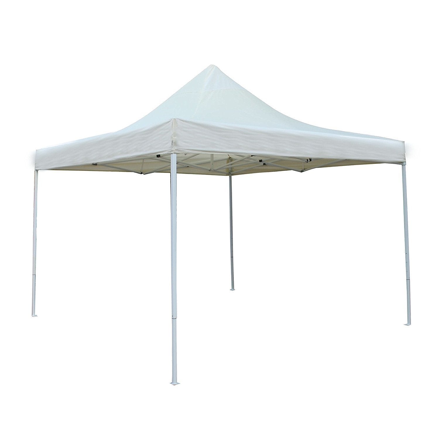 Aleko 10'X10' Portable Canopy Party Waterproof Cream (Ivo...