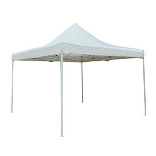 ALEKO 10'X10' Portable Canopy Party Waterproof Cream Gazebo Tent