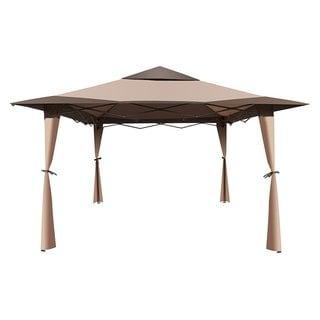 ALEKO Double Roof 10'X10' Patio Gazebo Picnic Sun Shade Canopy