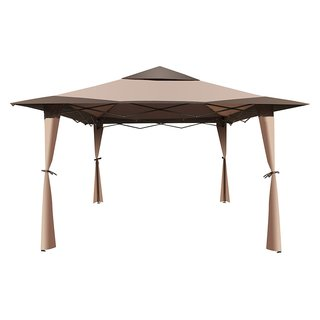ALEKO Double Roof 10'X10' Patio Gazebo Picnic Sun Shade Canopy