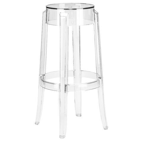 Poly and Bark Burton Bar Stool in Clear
