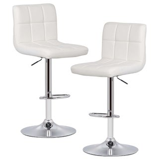 Poly and Bark Griffin Adjustable Barstool (Set of 2)