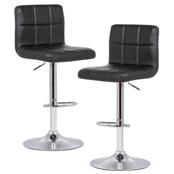 Discounted Home Goods: Shop Poly And Bark Griffin Adjustable Barstool (Set Of 2