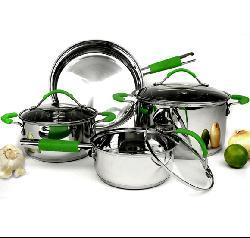 Classic 18/10 Stainless Steel 7-piece Cookware Set