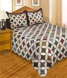 Harper's Inn All Cotton Bedspread - Thumbnail 1