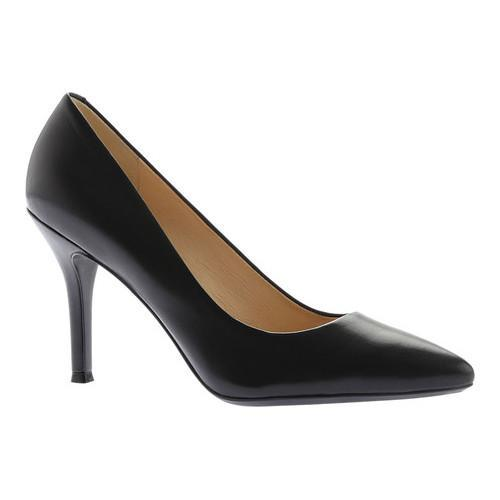 97599440ea4 Shop Women s Nine West Fifth9X9 Pointed Toe Pump Black Leather - Free  Shipping Today - Overstock - 16688794