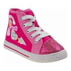 Girls' Josmo O-CH3728C Paw Patrol High Top Sneaker Pink