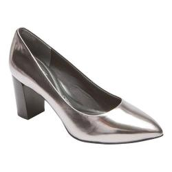 Women's Rockport Total Motion Violina Luxe Pump Pewter Leather