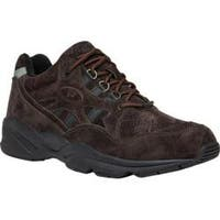 Men's Propet Stability Walker Brown Suede