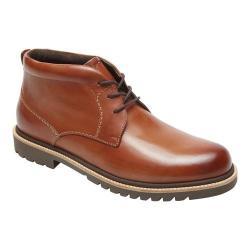 Men's Rockport Marshall Chukka Boot Cognac Leather