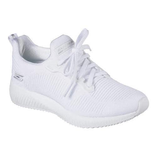 Women's Skechers Bobs Squad Photo Frame Sneaker White (US...