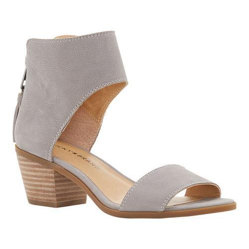 2716998d4a5 Shop Women s Lucky Brand Barbina Ankle Cuff Sandal Driftwood Leather - Free  Shipping Today - Overstock - 16716168