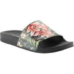 Women's Portland Boot Company Roslyn Floral Slide Black Floral (4 options available)