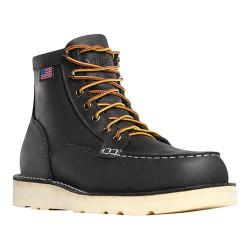 Men's Danner Bull Run Moc Toe 6in Cristy Black Oiled Full Grain Leather