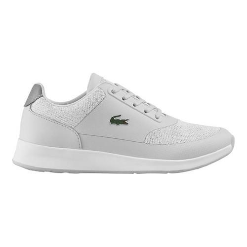 a72c72efc969 Shop Women s Lacoste Chaumont Lace Sneaker Grey Textile Synthetic - Free  Shipping Today - Overstock - 16775810