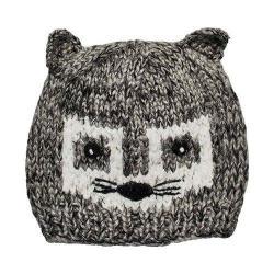 Children's San Diego Hat Company Racoon Knit Beanie KNK3510 Grey