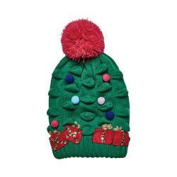 Children's San Diego Hat Company Christmas Tree Knit Beanie KNK3518 Green