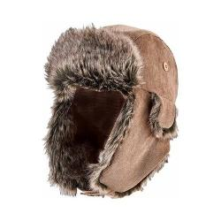 Women's San Diego Hat Company Corduroy Trapper CTH8085 Brown