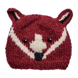Children's San Diego Hat Company Fox Knit Cap with Jewels KNK3511 Rust