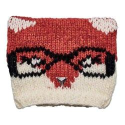 Children's San Diego Hat Company Fox Knit Cap with Jewels KNK3512 Rust