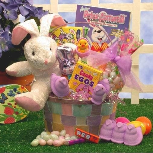 Bunny love easter basket free shipping on orders over 45 bunny love easter basket free shipping on orders over 45 overstock 10228565 negle Images