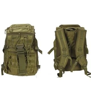 Unisex Military Tactical Backpack Hiking Climbing Rucksacks Army green
