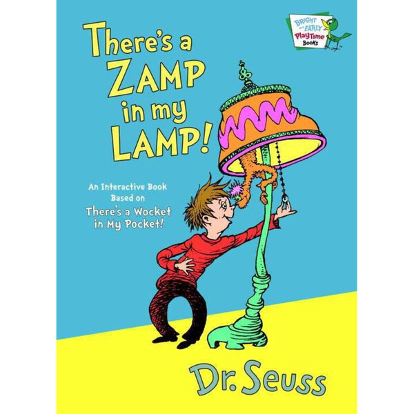 There's a Zamp in My Lamp (Hardcover)