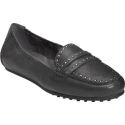 Women's Aerosoles Drive Up Loafer Black Leather
