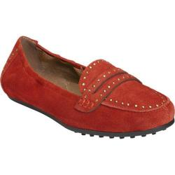 Women's Aerosoles Drive Up Loafer Orange Suede