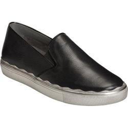 Women's Aerosoles Millionaire Slip-On Sneaker Black Leather