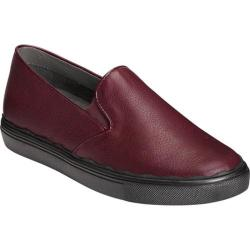 Women's Aerosoles Millionaire Slip-On Sneaker Wine Leather (More options available)