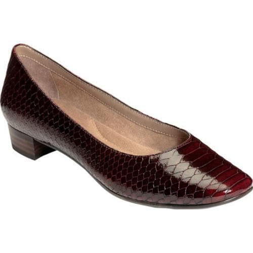 4a85edd4a3 Shop Women s Aerosoles Subway Pump Wine Snake Print Leather - Free Shipping  Today - Overstock - 16823420